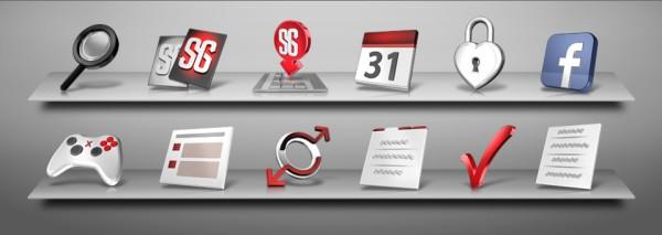 3D icon designs