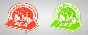 Biketaxi logo's