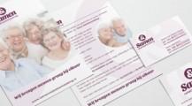 Samen businesscard + brochure