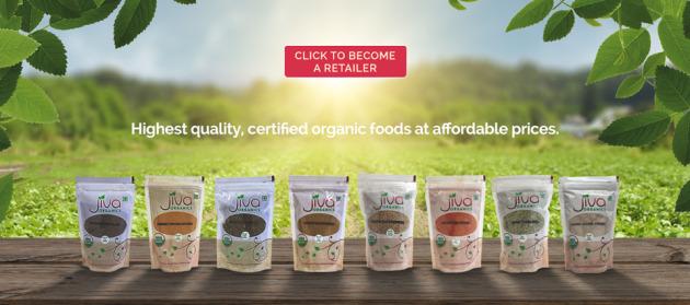 Jiva Organics webslides